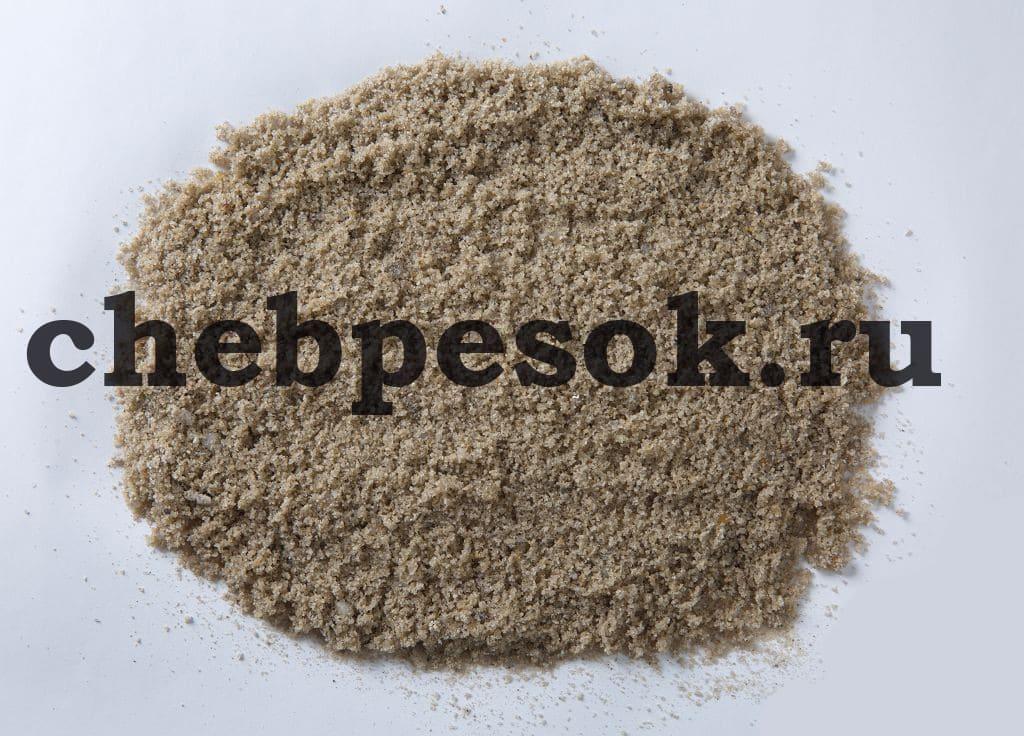Карьерный песок фракция chebpesok.ru